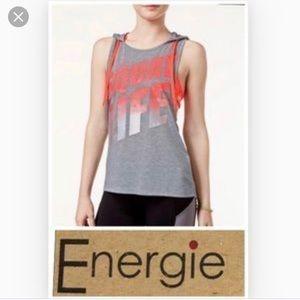 Energie Active Juniors Squat Life Cross Back Tank